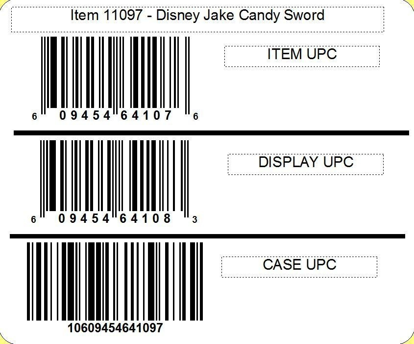 Disney ©Disney Jake and the Neverland Pirates Sword with candy