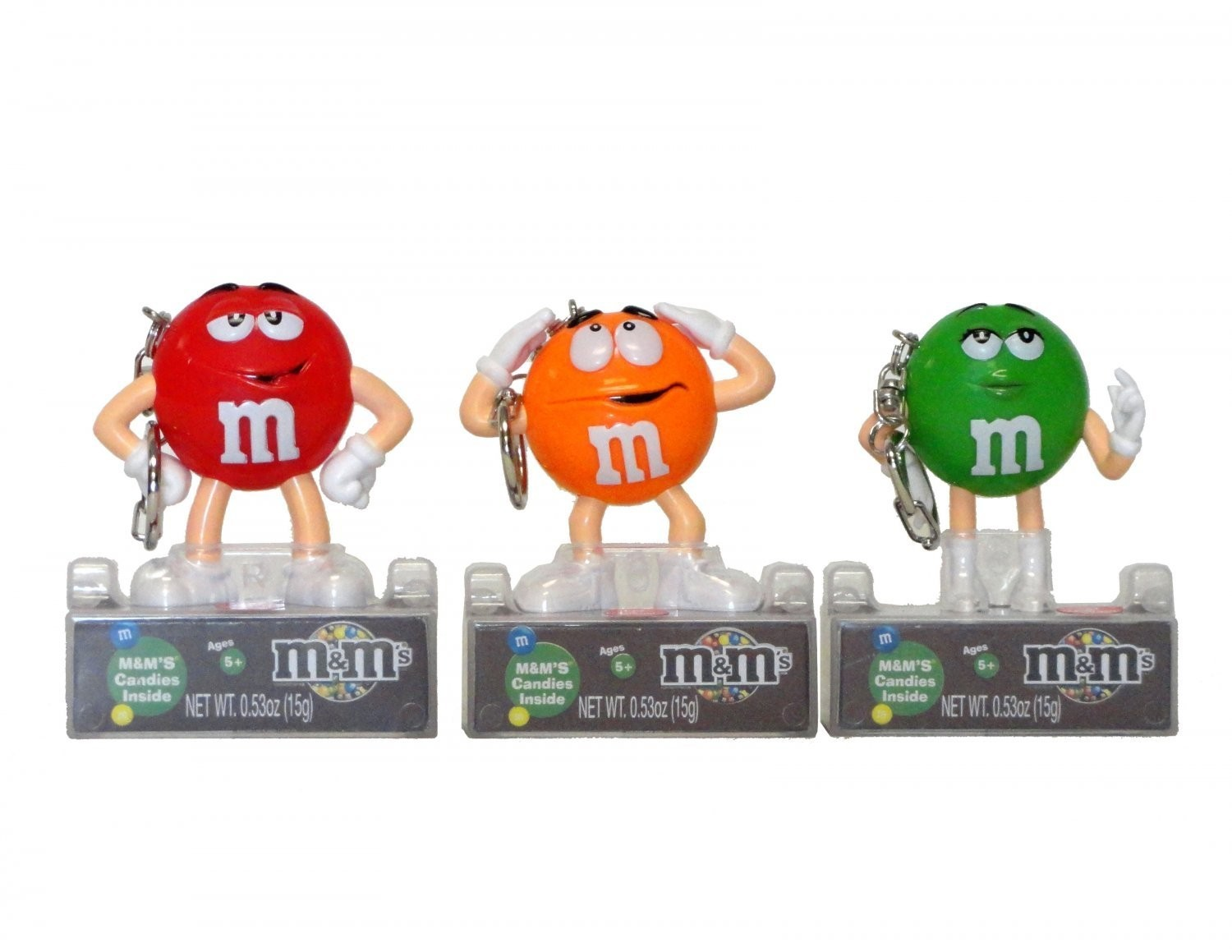 M&M's M&M'S ® Character Keychain with clip