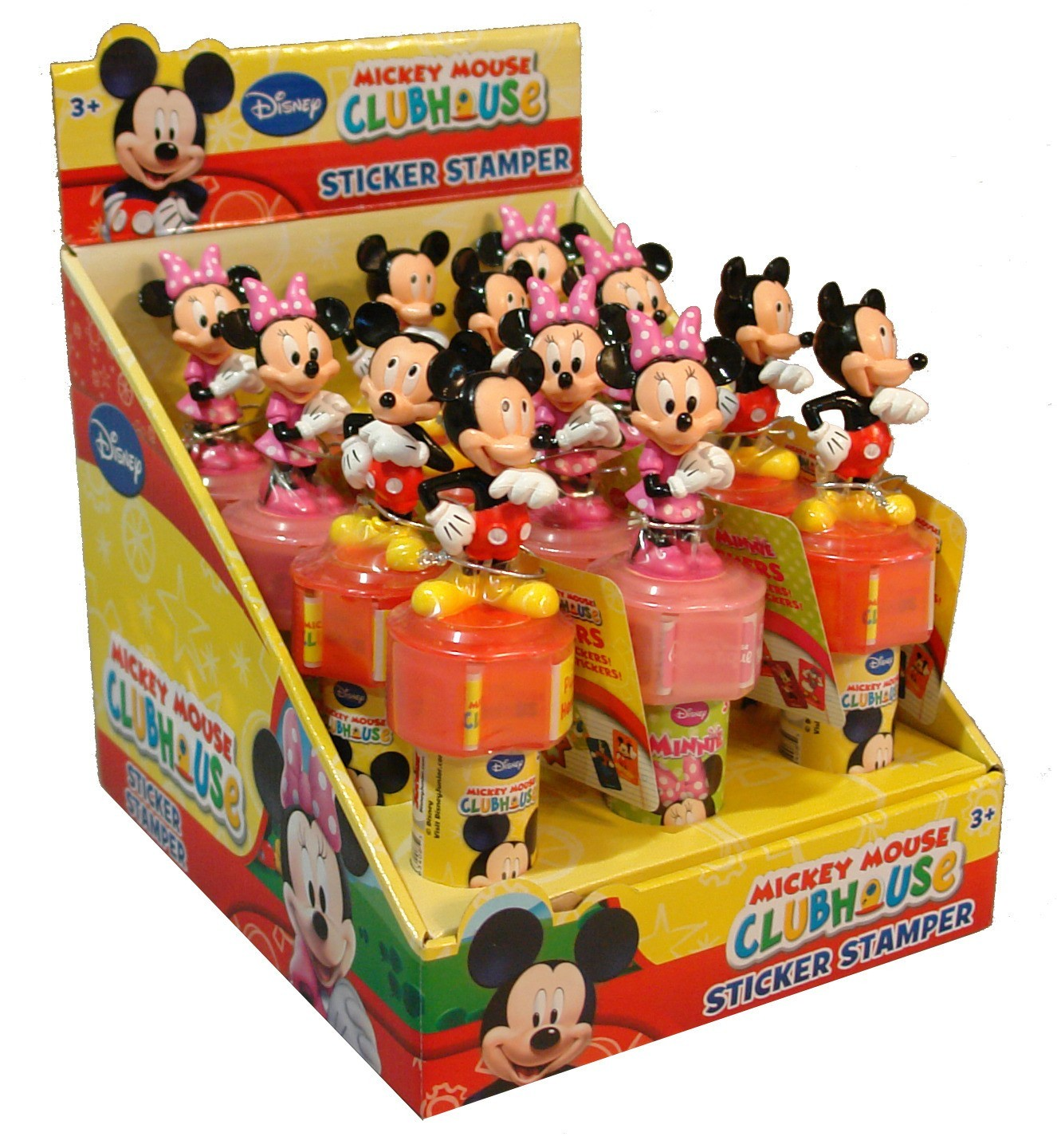 Disney ©Disney Mickey & Friends Sticker Stamper with candy