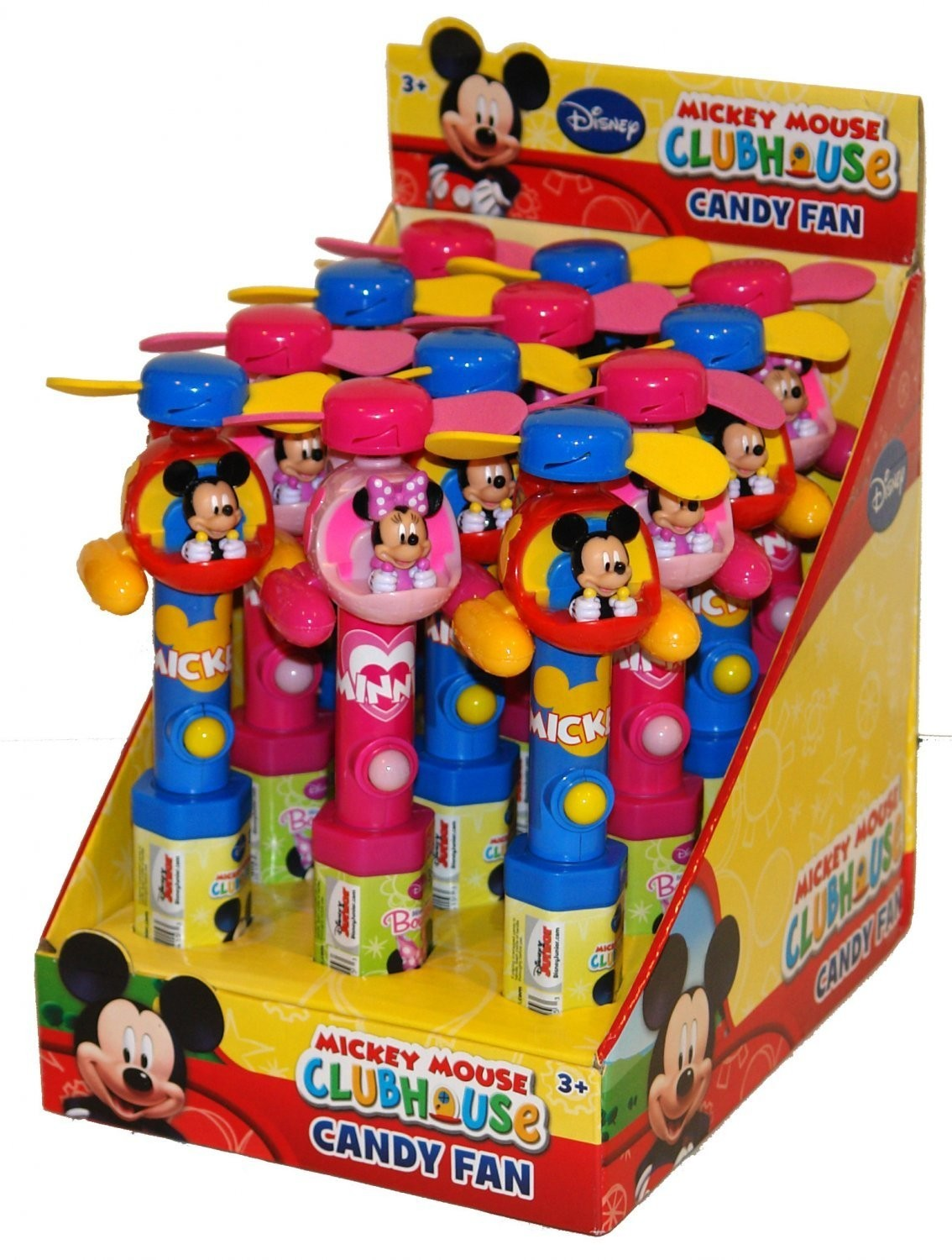 Disney ©Disney Mickey Mouse Clubhouse Helicopter Fan with candy