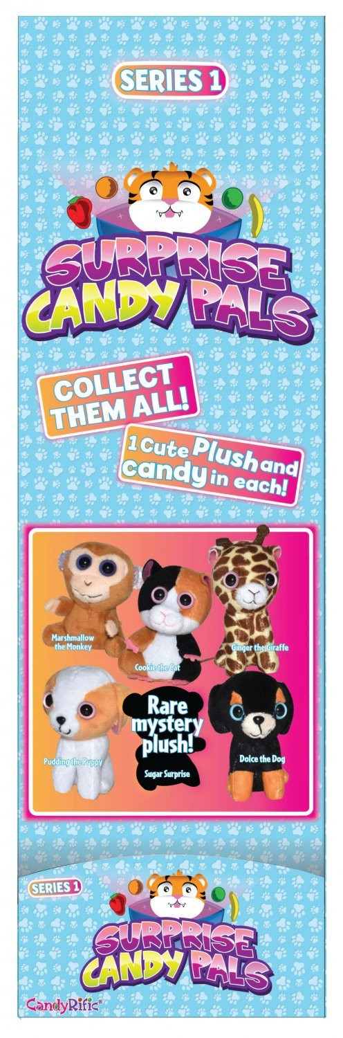 CandyRific  Surprise Candy Pals Display Panel