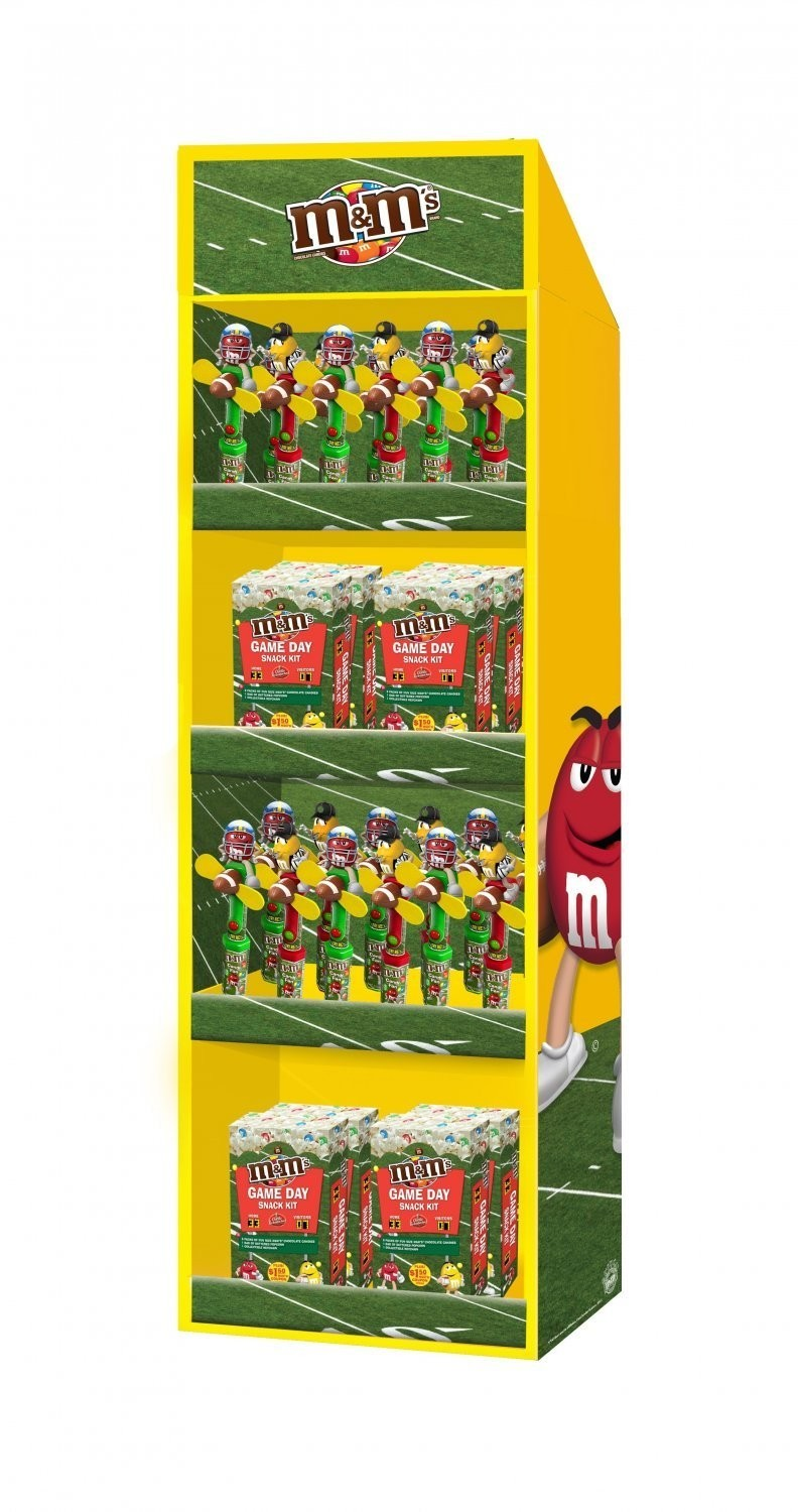 M&M's M&M'S ® Football Display Panel