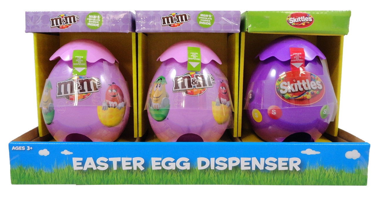 M&M's M&M'S® /Skittles Large Egg Dispensers