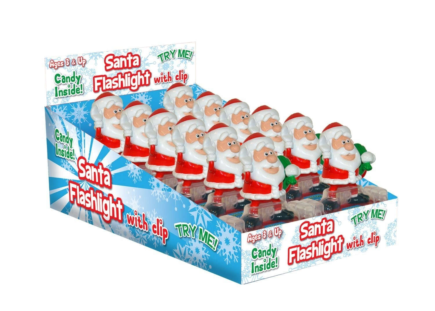 CandyRific  Santa Flashlight