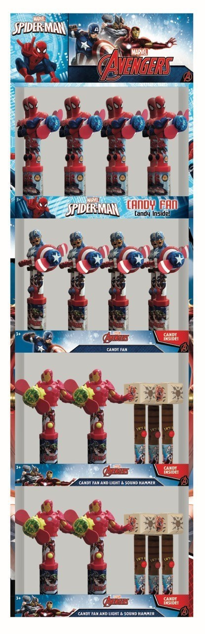 Marvel Avenger Character Display Panel 30ct