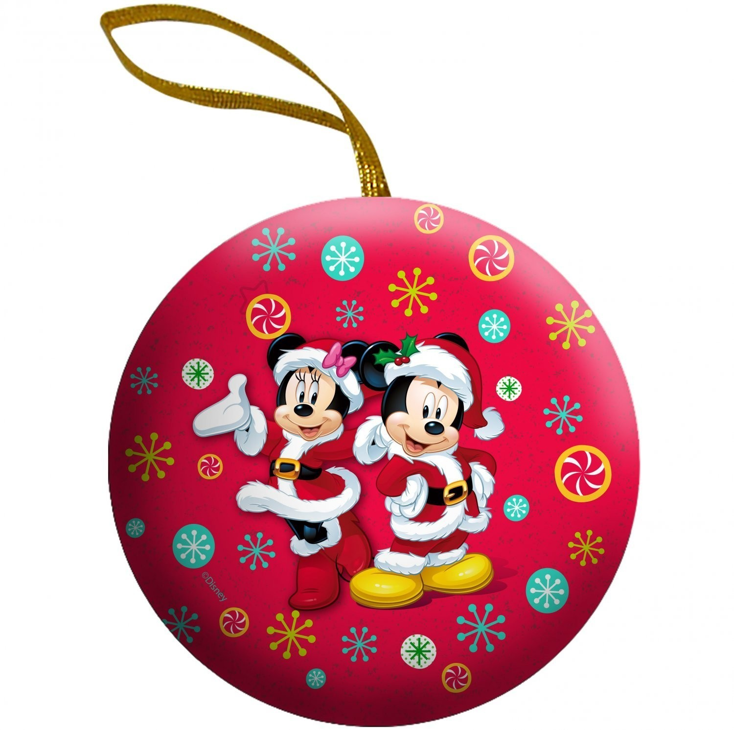 Disney ©Disney Ornament Tins with candy