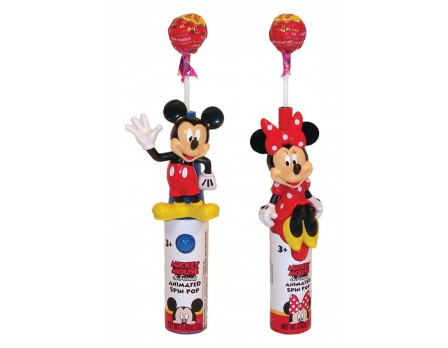 Disney ©Disney Mickey & Friends Animated Spin Pop with candy