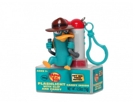 Disney ©Disney Phineas & Ferb Flashlight with candy