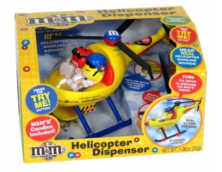 M&M's M&M'S® Helicopter Dispenser