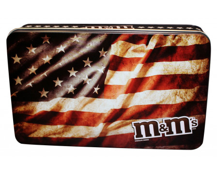 M&M's M&M'S® American Flag Military Tin