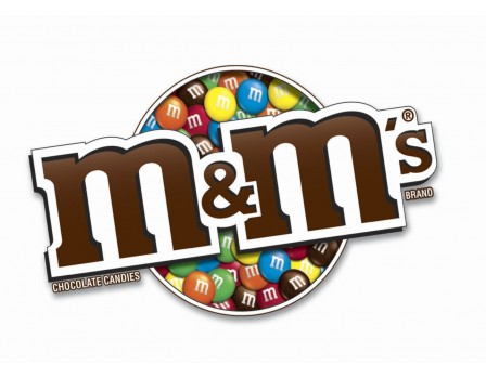 M&M'S ® Red, White & Blue Display Panel
