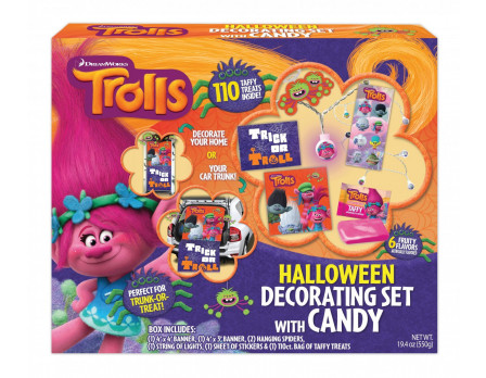 Dreamworks Trolls Halloween Decoration Kit